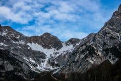 Alpi austriache Fotografia Stock Libera da Diritti