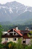 Alpi austriache ad estate. Immagine Stock