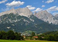 Alpi austriache, Berchtesgaden Fotografie Stock Libere da Diritti