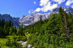 Alpi austriache - Berchtesgaden Fotografia Stock