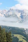 Alpi austriache in estate Immagini Stock