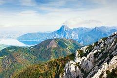 Alpi austriache, Europa Immagine Stock Libera da Diritti