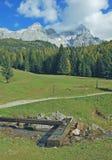Alpi austriache, Filzmoos, Austria Immagini Stock Libere da Diritti