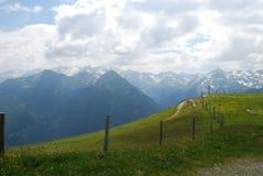 Alpi austriache in Gasteinertal Immagine Stock Libera da Diritti