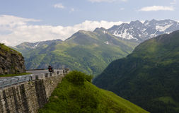 Alpi austriache, Grossglockner Fotografia Stock Libera da Diritti