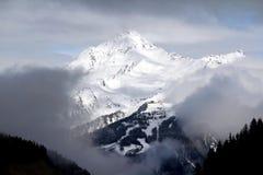 Alpi austriache intorno a Tux Fotografia Stock Libera da Diritti