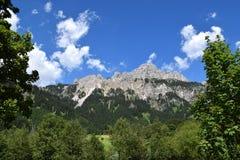 Alpi austriache meravigliose Fotografie Stock Libere da Diritti