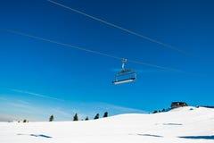 Alpi austriache nell'inverno Fotografia Stock