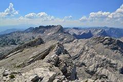 Alpi austriache - totalizzatori Gebirge Immagine Stock