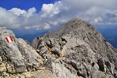 Alpi austriache - totalizzatori Gebirge Immagine Stock Libera da Diritti