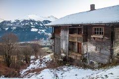 Alpi austriache vicino a Kitzbuehel Fotografia Stock Libera da Diritti
