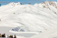 Alpi austriache vicino a Kitzbuehel Fotografia Stock