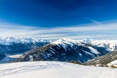 Alpi austriache vicino a Kitzbuehel Immagine Stock Libera da Diritti