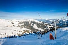 Alpi austriache vicino a Kitzbuehel Immagini Stock