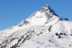 Alpi in austriaco Fotografia Stock