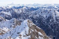 Alpi in austriaco Immagine Stock Libera da Diritti
