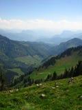 Alpi bavaresi Fotografie Stock