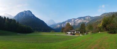 Alpi bavaresi Fotografia Stock Libera da Diritti