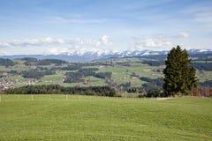 Alpi bavaresi Fotografie Stock Libere da Diritti