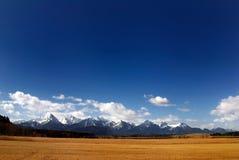 Alpi bavaresi Fotografia Stock