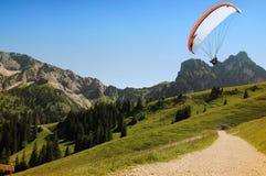 Alpi bavaresi Immagine Stock