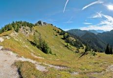 In alpi bavaresi Fotografia Stock Libera da Diritti