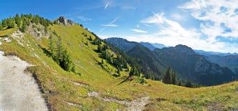 In alpi bavaresi Fotografia Stock