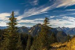 In alpi bavaresi Immagine Stock Libera da Diritti