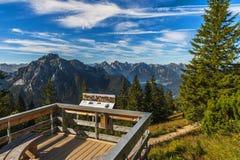 In alpi bavaresi Immagine Stock
