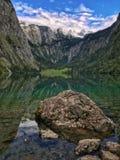 Alpi bavaresi di estate Fotografie Stock