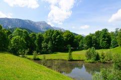 Alpi bavaresi in Germania Immagini Stock