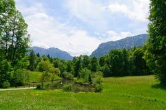 Alpi bavaresi in Germania Immagine Stock Libera da Diritti