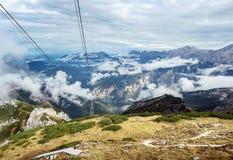 Alpi bavaresi, Germania Immagine Stock Libera da Diritti