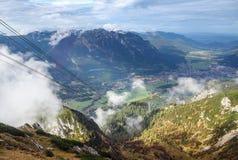 Alpi bavaresi, Germania Fotografia Stock Libera da Diritti
