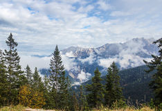 Alpi bavaresi, Germania Fotografia Stock