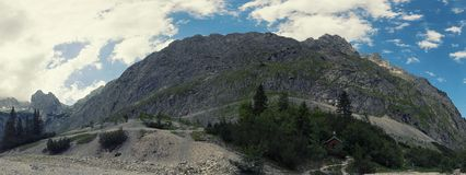 Alpi bavaresi, Germania Fotografie Stock Libere da Diritti