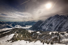 Alpi bavaresi, terra di Berchtesgadener, Germania Immagine Stock Libera da Diritti