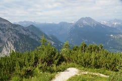 Alpi bavaresi, vicino al ` s Eagle di Hitler del porto di Nido-Adolf Hitler immagini stock