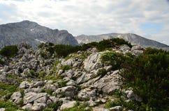 Alpi bavaresi, vicino al ` s Eagle di Hitler del porto di Nido-Adolf Hitler fotografie stock
