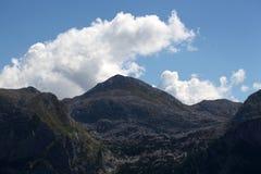 Alpi bavaresi vicino a Berchtesgaden Immagini Stock Libere da Diritti