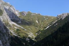 Alpi bavaresi vicino a Berchtesgaden Immagine Stock Libera da Diritti