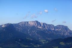 Alpi bavaresi vicino a Berchtesgaden Fotografie Stock