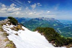 Alpi in Baviera Immagine Stock Libera da Diritti