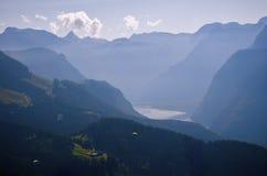 Alpi in Berchtesgaden Fotografie Stock Libere da Diritti