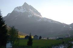 Alpi in bici Immagini Stock