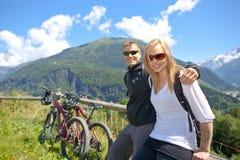 Alpi Chamonix Fotografie Stock Libere da Diritti