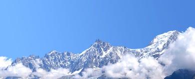 Alpi Chamonix-Mont-Blanc Immagini Stock