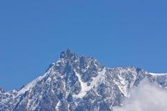 Alpi Chamonix-Mont-Blanc Immagine Stock