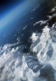 Alpi dall'aeroplano Fotografia Stock Libera da Diritti