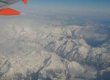 Alpi dall'uccello Immagini Stock Libere da Diritti